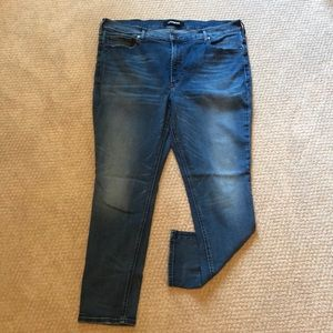 Express Denim perfect high rise leggings jeans 16S